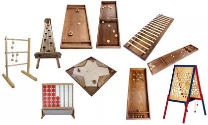 Location de stand de jeux géants en bois traditionnels